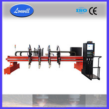 Metal plate CNC cutting machine with PC based cnc controller for heavy-duty cutting