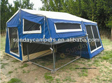 2014 High quality customized OEM 4WD offroad camper trailer truck tent for sale