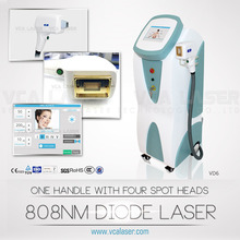 Laser hair removal for big spot size hair removal laser