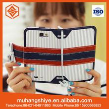 Book Style Premium PU Leather Wallet Flip Case