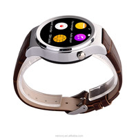 New Style Round Screen Health Care Smart Lady Watch With Heart Rate Monitor Wrist Pedometer