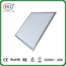 LEDwholesalers 24x24-in LED Panel Light 40-Watt Edge-Lit Super Bright Ultra Thin Glare-Free, White, 2104WH