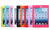 fashion silicon shockproof case for ipad 2/3/4,for ipad children case