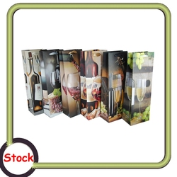 Cheap wine gift paper bag