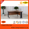 L Shaped office computer table/wooden executive office furniture desk