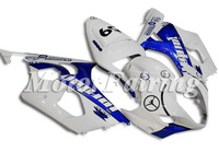 for suzuki gsxr1000 bodykit K3 2003-2004 gsxr1000 fairing 03 04 gsxr1000 fairing gsxr1000 bodywork white blue