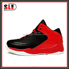 New arrival mens basketball shoes lace up sports shoes high breathable shoes