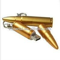 Cool Metal bullet Shaped Usb Flash Drive 4gb