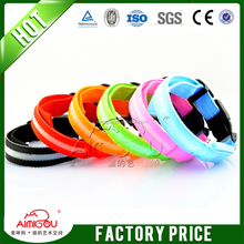 15 YEARS Contact Supplier Chat Now! best selling pet products LED flashing dog Collars Safety Collar/Pet Leashes
