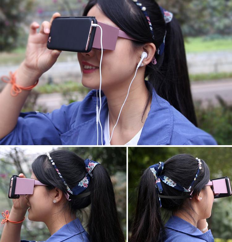 Pas cher Prix 2e Génération sexe vidéo google 3d vr casque de réalité virtuelle