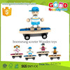 Promotional Wooden DIY Funny Toys- Boomerang Scooter Wooden Toys