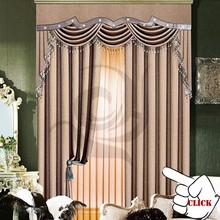 europe type popular ployster linen fabric high quality curtain for living room