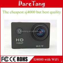 2015 the newest sports camera 1080P action camera Private Design car camera WIFI 60meters cctv camera