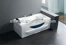 interior de la bañera de acrílico bañera de hidromasaje caliente bañera de hidromasaje masaje tina agua calienteindependiente