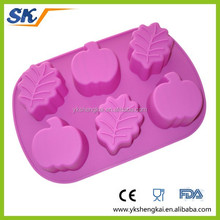 colorful silicone soap molds