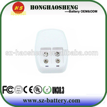 hot sale best price 9v battery charger with CE FCC RoHS