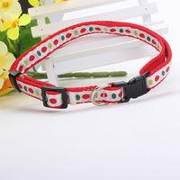 Custom size nylon woven webbing strap pet dog collars