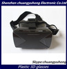 Cheap 3D glasses Plastic VR Virtual Reality Glasses Google Cardboard for 3D Movies Games Fit 4-6.5 phone OEM Logo