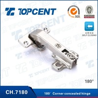 CH.7180 35mm cup two way special angle metal cabinet door hinge