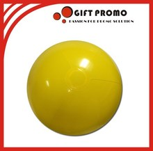 Inflatable PVC Yellow Beach Ball