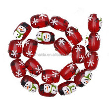 Christmas snowman design special wholesale handcraft beads B081