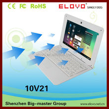 VIA WM gold partner 10inch Android netbook computer dual core internal wifi external3g front web camera 10inch netbook computer