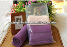 clear plastic packaging bag for clothing