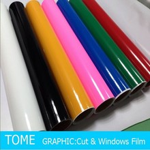 1.22*50m per roll 36 colors glossy and matte cutting vinyl sticker