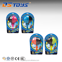 Sport toys outdoor game small plastic people toy parachute