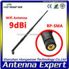 [WIFI antenna] flexible rubber car antenna 2.4ghz 9dbi omni directional antenna