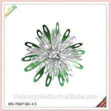 2015 más reciente de plástico de regalo decoración de flores de regalo para el diseño de paquete