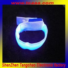 Promotional Party Sound Control Bracelet Led Gift