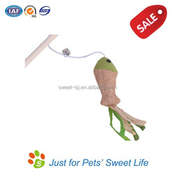 2015 Sweet Factory Design Cat Dangler With Mouse Toy and Catnip, Cat Teaser