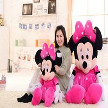 45/70/90/120/140cm Custom made cute plush toy minnie mouse, stuffed soft minnie mouse plush dolls toy