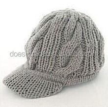 2012 new style fashion knitting pattern earflap hat