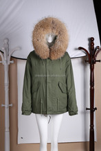 elegant ladies furs lined natural furs unisex hot sale in UK jacket