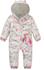 New product hot sale for 2015 Add thick jumpsuits wholesales pure cotton puppy printed Long sleeve baby romper