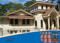 High quality metal building materials prices roof /tile in mexico roofing tile /french roof tile