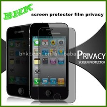 anti-scratch screen protector film privacy for iphone 6 ,9H glass Screen Protector privacy