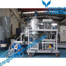 YNZSY Waste Oil Regeneration Machine Used Ships Engine Oil