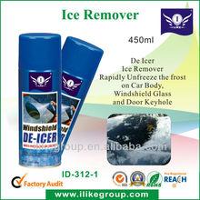 Spray De-Icer, 450ml . Aerosol Can