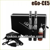 Cheap price hottest sale electronic cigarete wholesale ego ce5 /ce5 clearomizer new e-cigarette metal kit or blister kit ego ce5