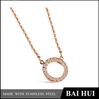 Wholesale Quality Designs Gold Fashion Necklace /Womens Personalized Gold Necklace