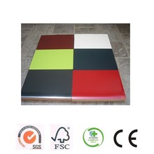 ADMY factory low prices laminated 1mm acrylic sheet faced mdf for cabinet or decoration wholesale