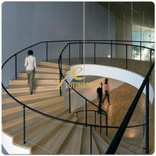 Office hall Stair handrail decorative mesh netting