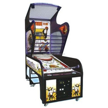 indoor arcade hoops cabinet basketball game