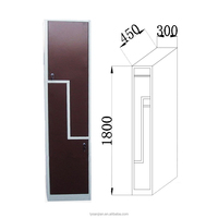 Hot Sale Cheap Staff Changing Room Clothes Steel Z Shape Locker