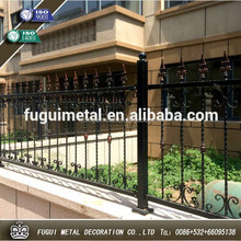 Factory production HDG steel yard fence panel