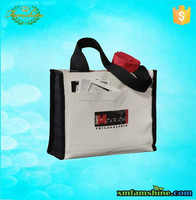 fashion customized cotton canvas shopping bag