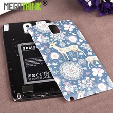 Note 3 Note 4 Rear Back Housing Battery Door replacement cover Case for Samsung Note 3 4 in Customized Printing Painted Picture